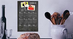 Calendário Poster