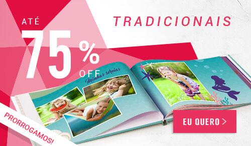 Saldão NiceDays - Fotolivros Tradicionais com até 75% OFF