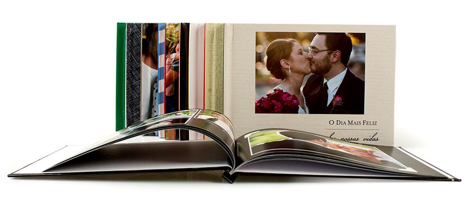 Fotolivro Clássico Pequeno - modelo mais vendido