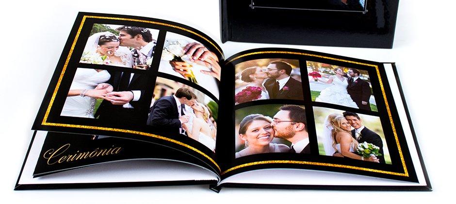 Fotolivro tradicional para casamento
