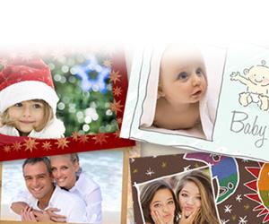 O que é um cartão postal<br/><strong>personalizado</strong>?