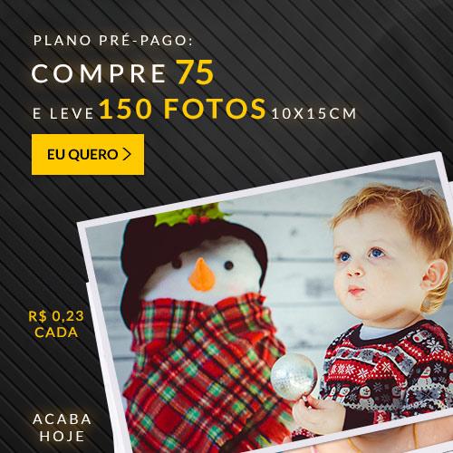 Plano de 150 fotos a R$34,50.