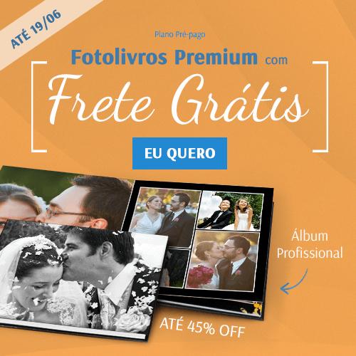 Fotolivros Premium com até 45%OFF + FRETE INCLUSO!