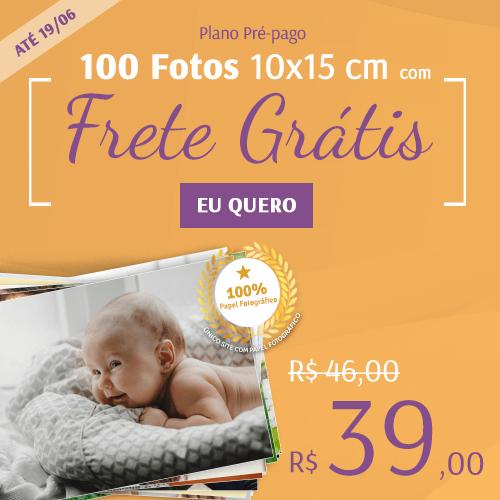 100 fotos + Frete por R$39!