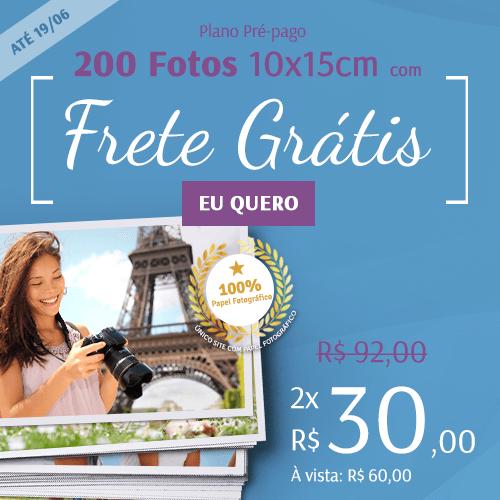 200 fotos + Frete por R$60!
