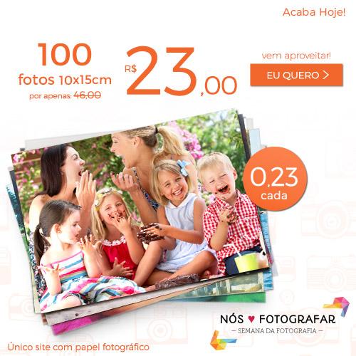 Plano de 100 Fotos a R$23.