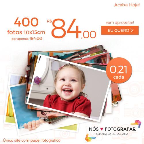 Plano de 400 Fotos a R$84.
