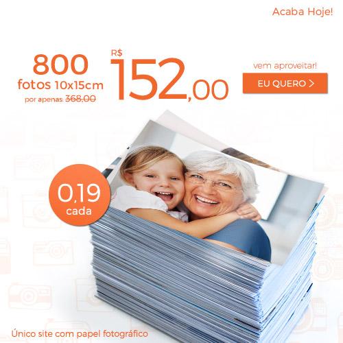 Plano de 800 Fotos a R$152.