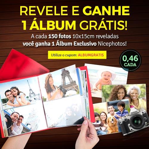 Revelação com álbum Grátis!