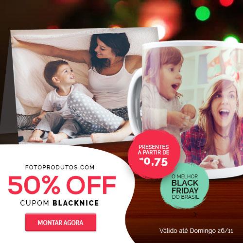 Fotoprodutos com 50%OFF!